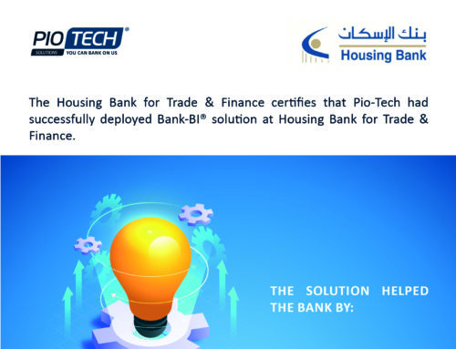 Housing Bank deployed Pio-Tech Bank-BI©