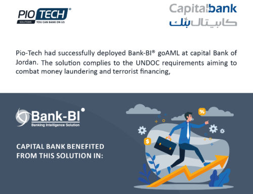 Capital Bank of Jordan deployed Bank-BI© goAML